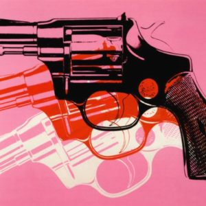 Gun C 1981 82 Painting by Andy Warhol; Gun C 1981 82 Art Print for sale