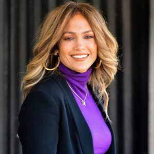 NEW YORK, NY - OCTOBER 27:  Jennifer Lopez seen on location for 'Second Act' in Queens on October 27, 2017 in New York City.  (Photo by James Devaney/GC Images)